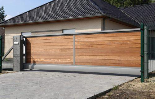 Forest Yvan Stalen kader met horizontale inleg met ceder/afrormosia/padouk