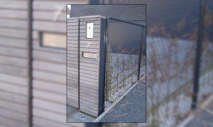 Free Willy Stalen kader met horizontale cederlatten 50mm en groef 10mm