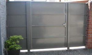 Kwai gesloten Stalen kader met volle plaat dikte 3mm