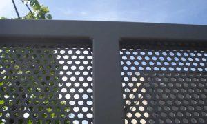 Kwai perfo Stalen kader met geperforeerde plaat dikte 3mm, Perfo 8x8mm of ø5mm