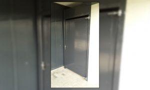 Maatwerk poorten deuren - speciale dichte deur